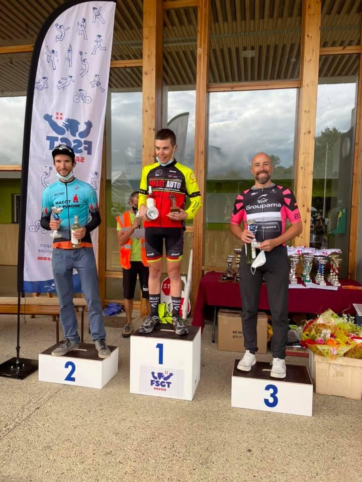 Laurent Journet 3ème des Championnats de Savoie FSGT
